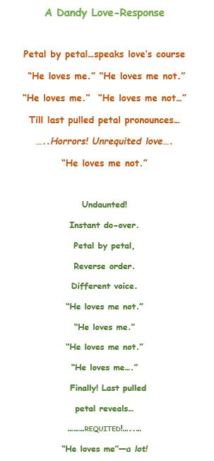 A Dandy Love-Repsonse (2)